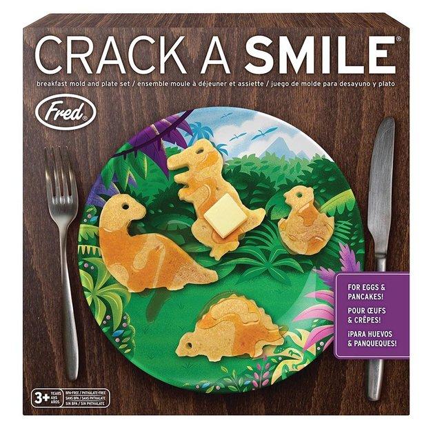 Crack A Smile - Breakfast Set - Dino