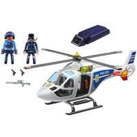 Playmobil: Police Helicopter with LED Searchlight