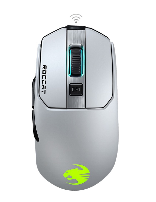 ROCCAT Kain 202 Wireless Gaming Mouse - White for PC