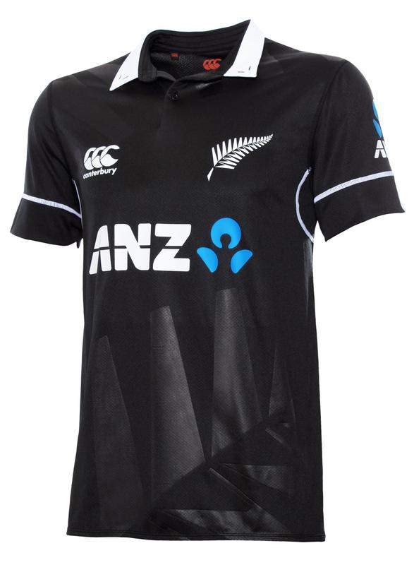Canterbury BLACKCAPS Replica ODI Shirt Kids (Size 12)