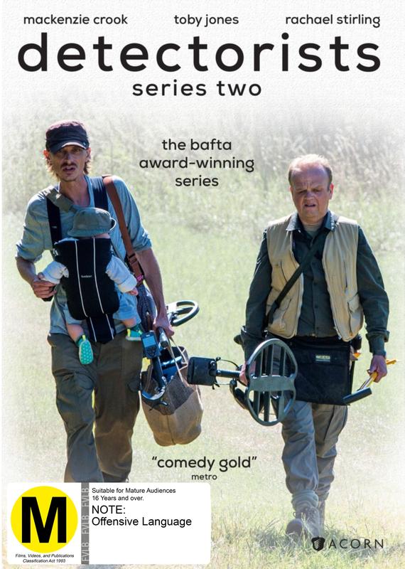 Detectorists: Series 2 on DVD