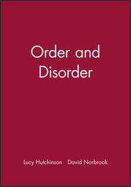 Order and Disorder by Lucy Hutchinson image