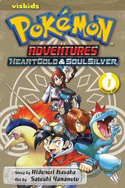 Pokemon Adventures: Heart Gold Soul Silver, Vol. 1 by Hidenori Kusaka