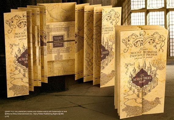 Harry Potter: Marauder's Map - Prop Replica