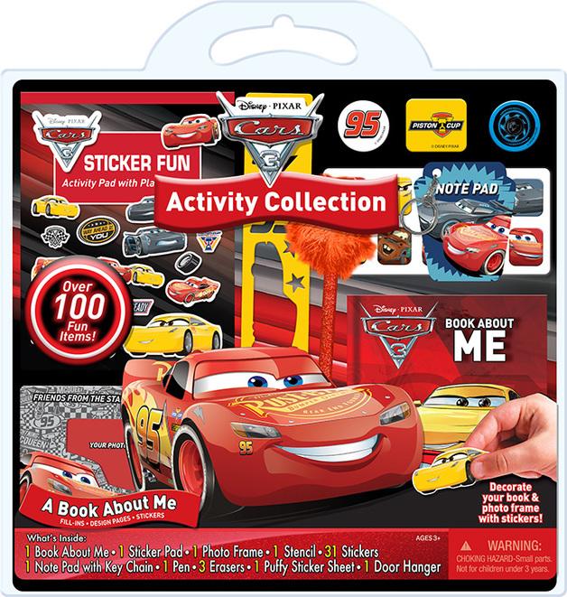 Disney Cars 3 - 100-Pc Activity Set