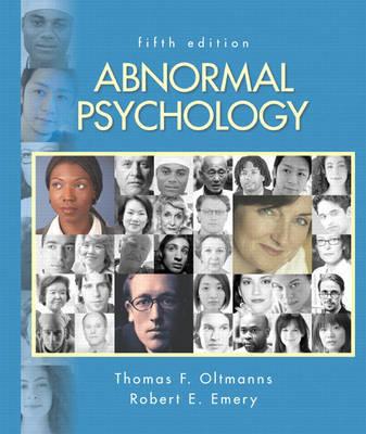 Abnormal Psychology by Robert E. Emery
