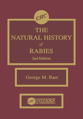 The Natural History of Rabies, 2nd Edition by George M. Baer image