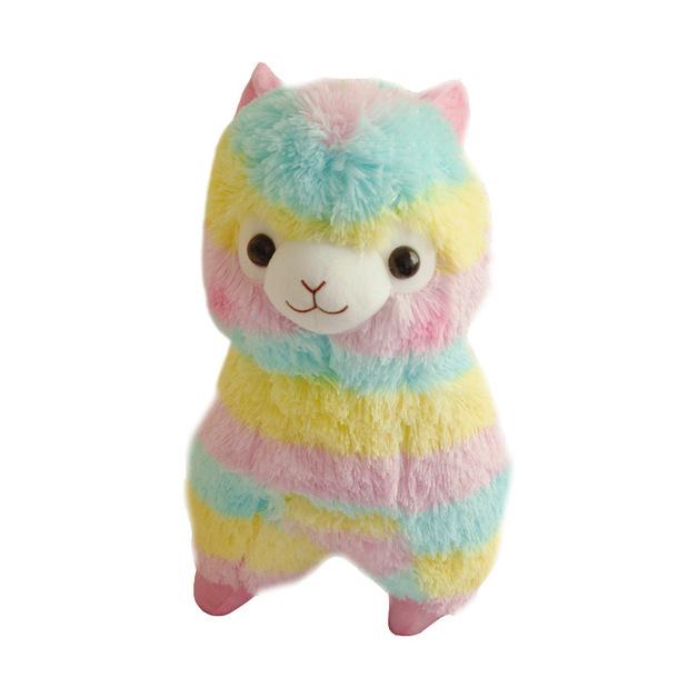Rainbow Llama Plush (50cm)
