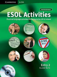ESOL Activities Entry 2: Entry 2 by Elaine Boyd
