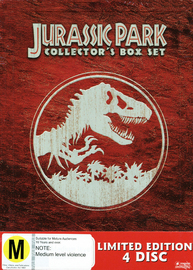 Jurassic Park Ultimate Collection on DVD