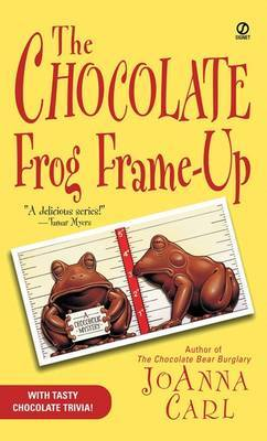 The Chocolate Frog Frame-Up by JoAnna Carl image