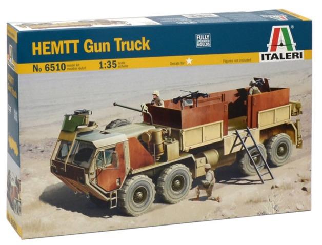 Italeri: 1:35 M985 HEMTT Gun Truck - Model Kit