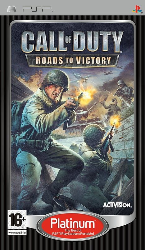 Call of Duty 3 Roads to Victory for PSP
