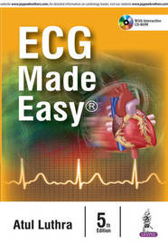 ECG Made Easy by Atul Luthra image
