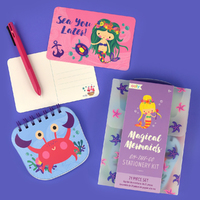 Magical Mermaids: On The Go - Stationery Kit