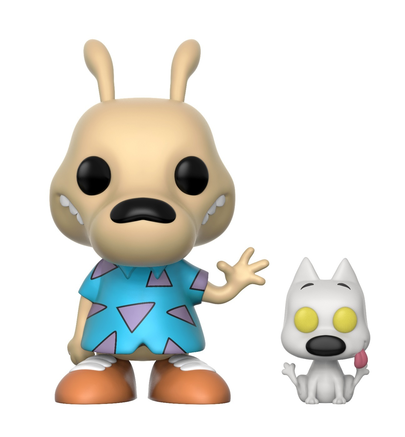 Rocko's Modern Life - Rocko & Spunky Pop! Vinyl Figure (with a chance for a Chase version!) image