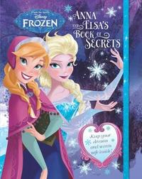 Disney Frozen Anna and Elsa's Book of Secrets by Parragon Books Ltd image