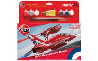 Airfix RAF Red Arrows Hawk Starter Set 1/72 Model Kit