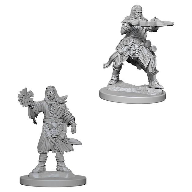 Pathfinder Deep Cuts: Unpainted Miniature Figures - Male Human Wizard