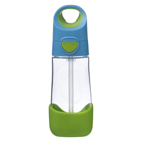 B.Box: Clear Tritan Drink Bottle - Ocean Breeze