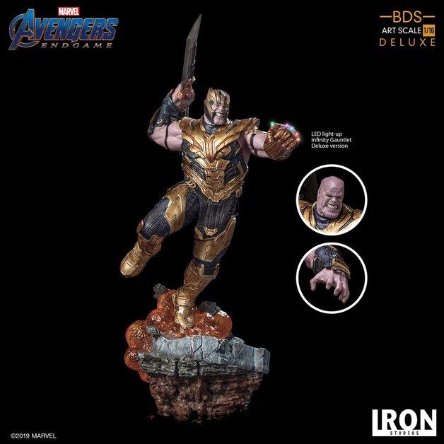 Avengers: Endgame - 1/10 Thanos (Deluxe) - Battle Diorama Statue
