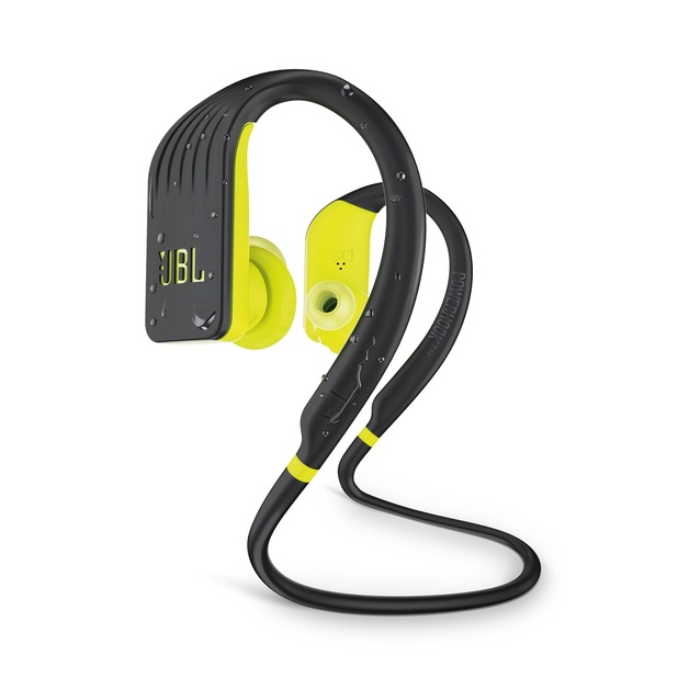 JBL Endurance Jump Bluetooth Headphones - Yellow