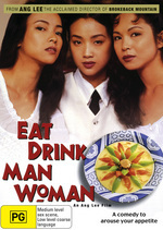 Eat Drink Man Woman on DVD