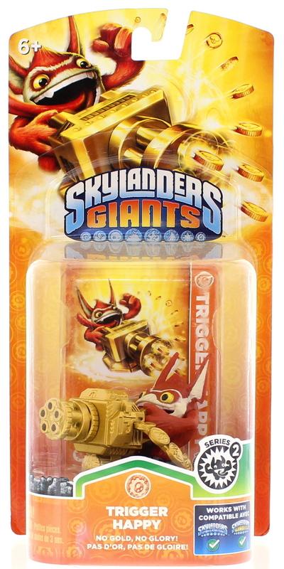 Skylanders Giants Character Single Pack Trigger Happy S2 All