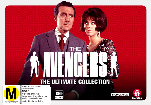 The Avengers: The Ultimate Collection on DVD