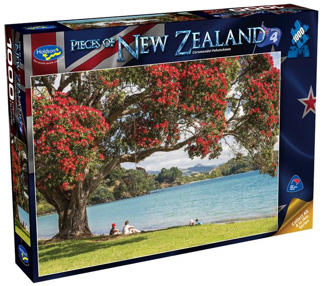 Holdson: Pieces of New Zealand - Series 4 - Coromandel Pohutukawa - 1000 Piece Puzzle