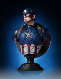 Marvel: Captain America (Civil War Ver.) - Mini Bust