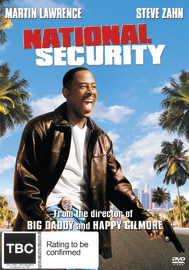 National Security on DVD
