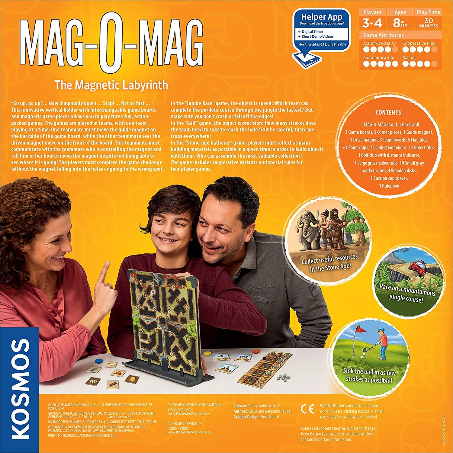 Mag-O-Mag - The Magnetic Labyrinth Game image
