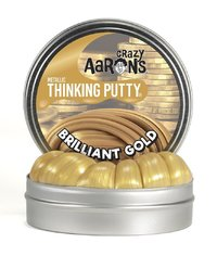 Crazy Aarons Thinking Putty: Mini Tin - Brilliant Gold