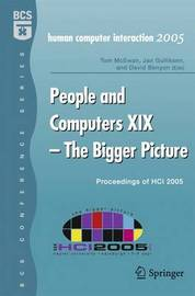 People and Computers XIX - The Bigger Picture
