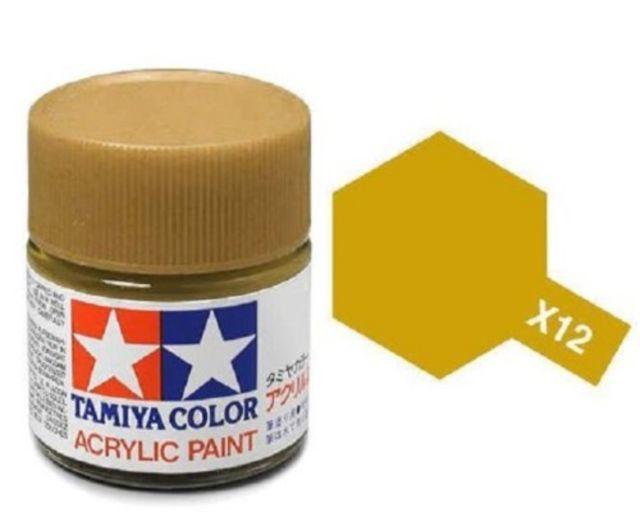 Tamiya Acrylic: Gold Leaf (X12) image