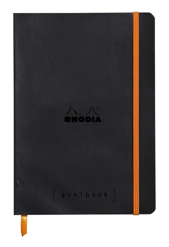 Rhodiarama A5 Goalbook Dot Grid - Noir