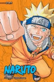 Naruto (3-in-1 Edition), Vol. 7 by Masashi Kishimoto