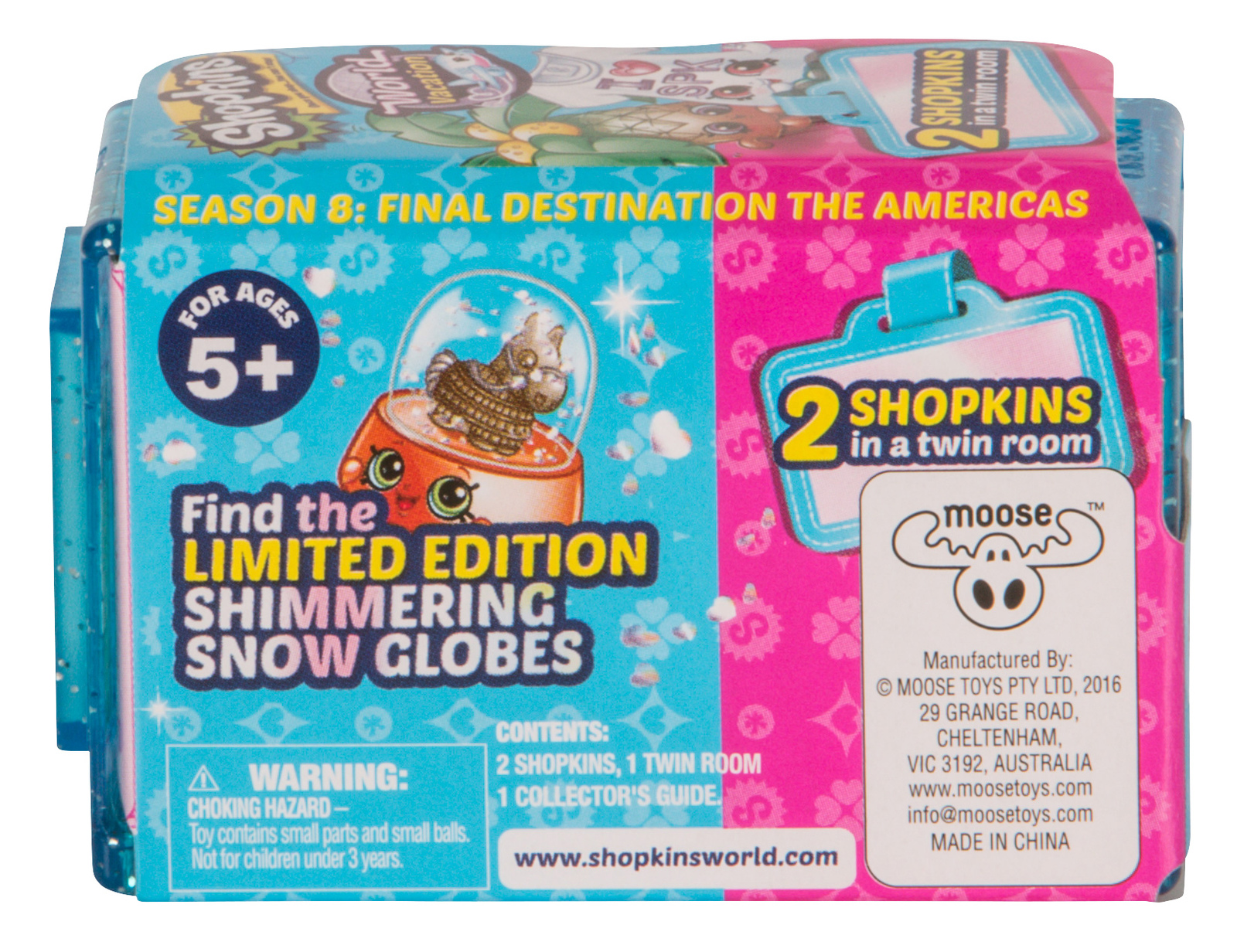 Shopkins: World Vacation - 2 Pack (Series 8 - Wave 3) image