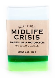 Whiskey River Co: Soap - For Midlife Crisis