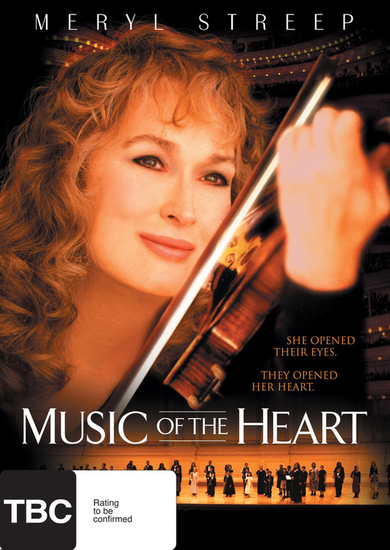 Music Of The Heart on DVD