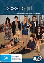 Gossip Girl - The Complete 3rd Season (5 Disc Set) on DVD