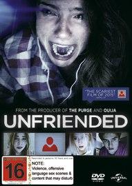 Unfriended on DVD
