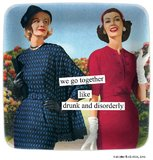 Anne Taintor: We Go Together - Mini Tray
