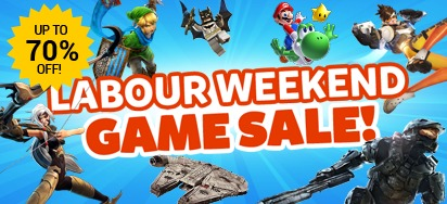 Labour Weekend GAME SALE!