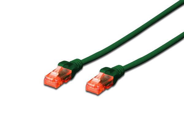 Digitus UTP CAT6 Patch Lead - Green (0.2m)