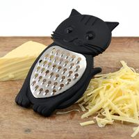 Bar Amigos Meow Cheese Grater - Black