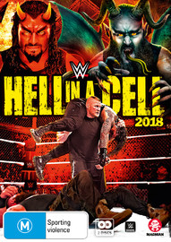 Wwe: Hell In A Cell 2018 on DVD