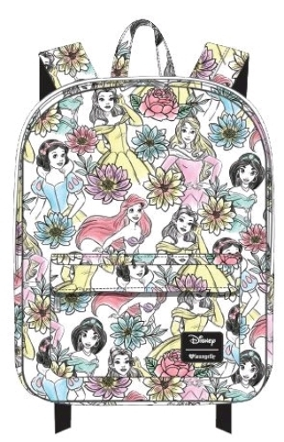Loungefly: Disney - Princesses Line Art Print Backpack