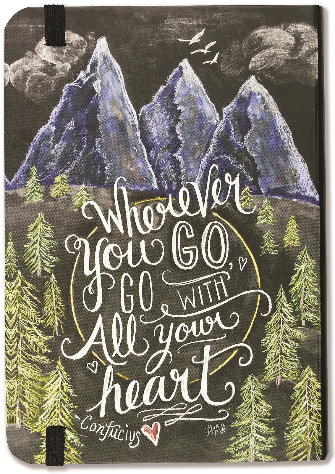 Peter Pauper Press: Wherever You Go, Go With All Your Heart 2020 Weekly Planner image